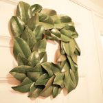 Make a Magnolia Wreath in 10 Mins.  Seriously.