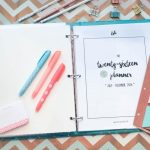 Plan Like a Boss:  2016 {Second Half} Planner