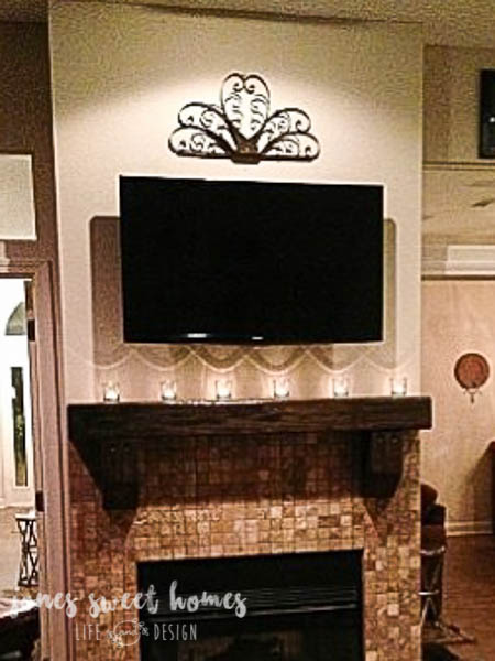 Build a Rustic Mantel