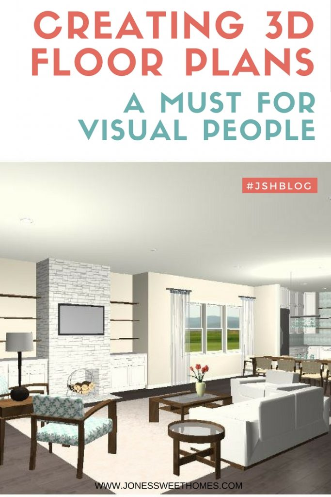 Visual Homes creating 3d floor plans: a must for visual people! - jones sweet homes