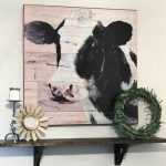 Quick and Easy DIY Farmhouse Shelf