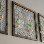 Faux Tin Panel Wall Art DIY