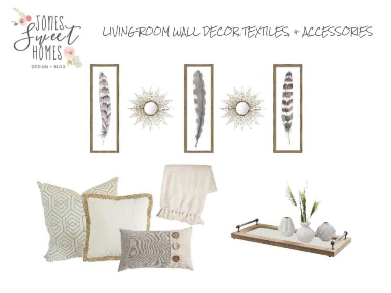 E-Design, a la carte living room accessories