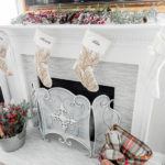 Merry & Bright Blog Hop {Living Room}